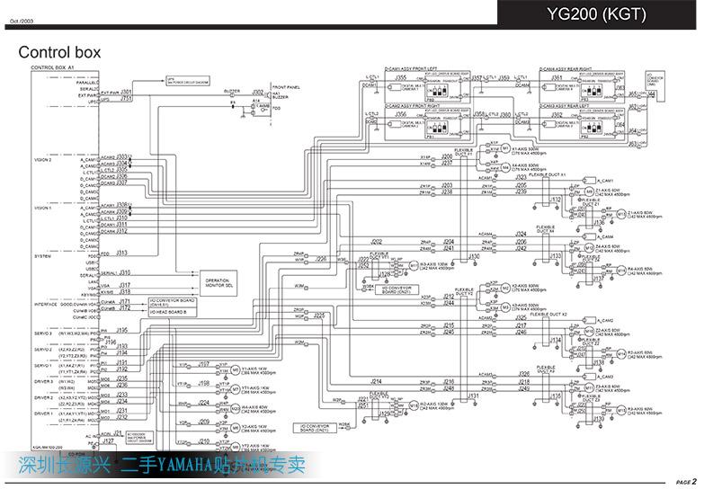 yg200 贴片机详细电路图下载